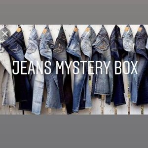 5LB Jeans Mystery Box just 30 dollars